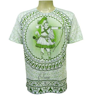 Camiseta Okê Arô Viscose