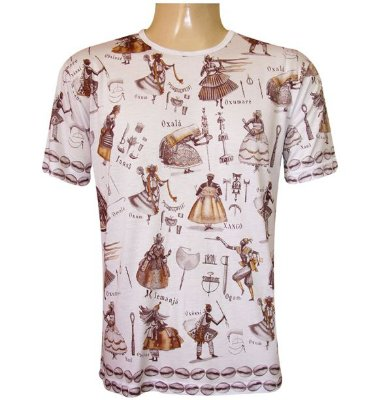 Camiseta Orixás Viscose II
