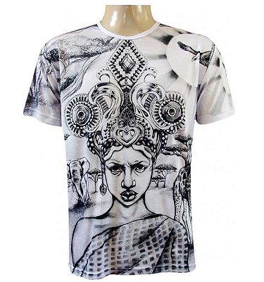 Camiseta Africana Viscose