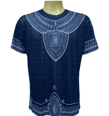 Camiseta Arjuna Azul Viscose