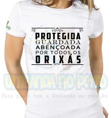 Baby Look Protegida e Guardada