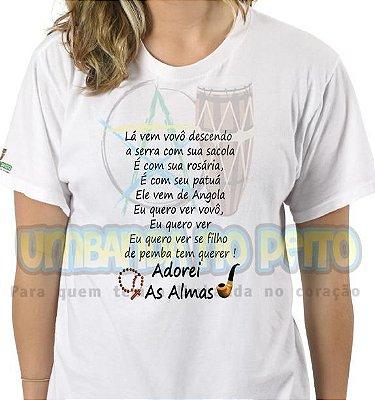 Camiseta Lá Vem Vovô Descendo a Serra (TAM G)