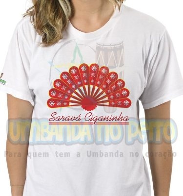 Camiseta Saravá Ciganinha