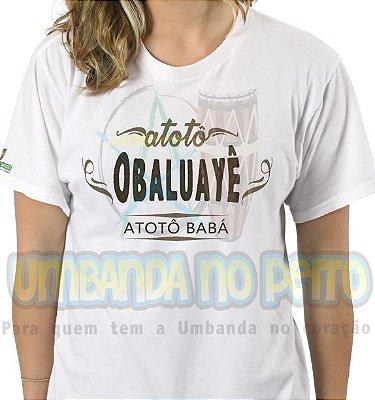 Camiseta Atotô Babá