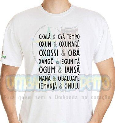 Camiseta & Orixás