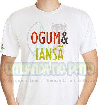 Camiseta Coleção Pai & Mãe: Ogum & Iansã