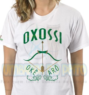 Camiseta Oxossi Arco e Flecha