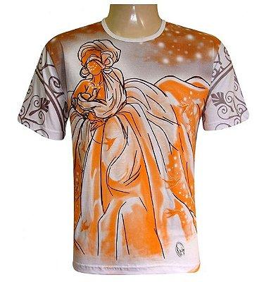 Camiseta Senhora das Cachoeiras (100% algodão)