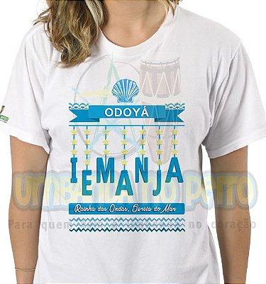 Camiseta Odoyá Iemanjá