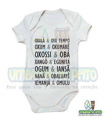 Body Infantil & Orixás