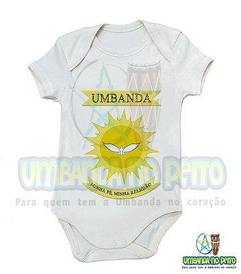 Body Infantil Umbanda Minha Fé