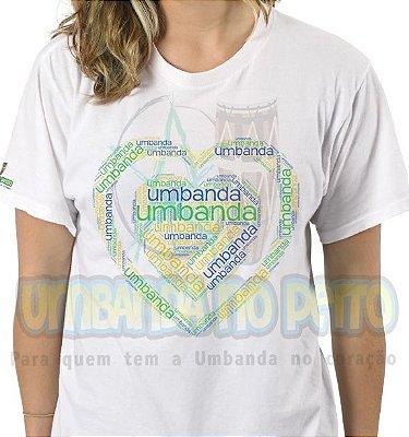 Camiseta Coração Umbandista