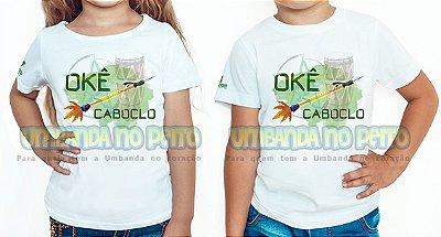 Camiseta Infantil Flecha de Caboclo