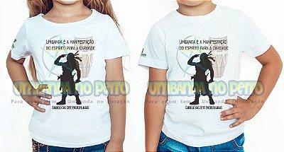 Camiseta Infantil Caboclo das Sete Encruzilhadas