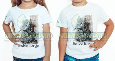 Camiseta Infantil Jorge, Salve Jorge