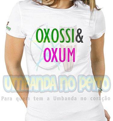 Baby Look Coleção Pai & Mãe: Oxossi & Oxum