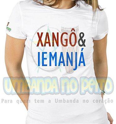 Baby Look Coleção Pai & Mãe: Xangô & Iemanjá