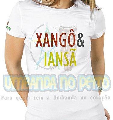 Baby Look Coleção Pai & Mãe: Xangô & Iansã
