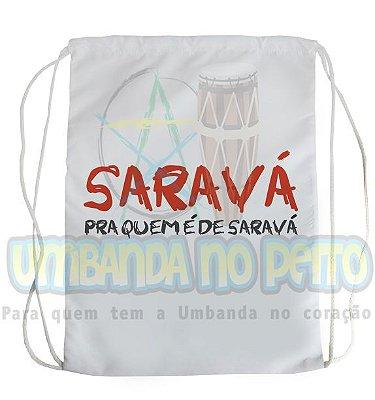 Mochilinha para Guias / Colares / Fios de Contas - Quem é de Saravá