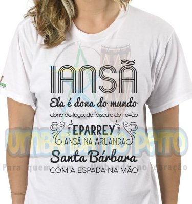 Camiseta Iansã Dona do Mundo