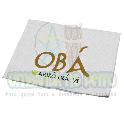 Toalha Obá
