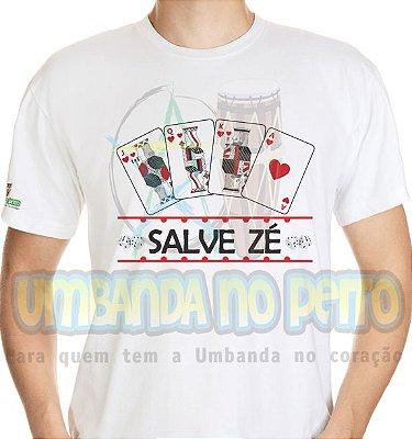Camiseta Salve Zé