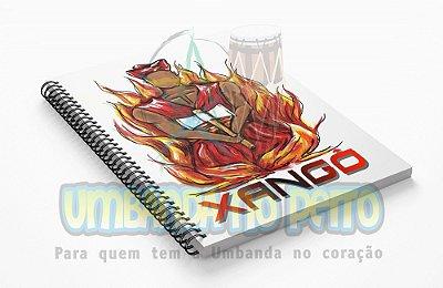 Caderno Xangô Coleção Orixás
