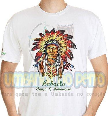 Camiseta Caboclo Força & Sabedoria