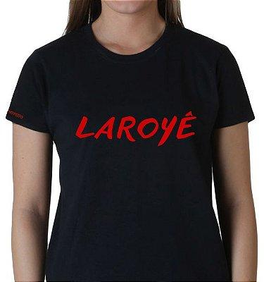 Camiseta Preta Laroyê