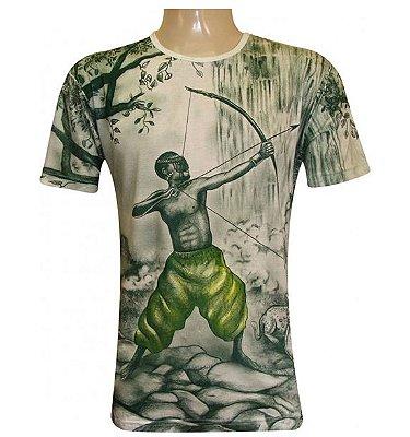 Camiseta Oxossi Caçador Viscose