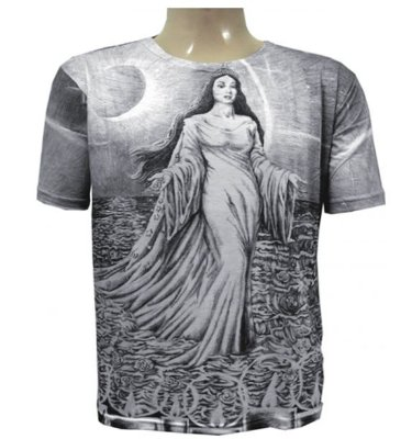 Camiseta Iemanjá Viscose