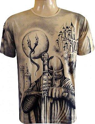 Camiseta São Jorge Guerreiro Viscose