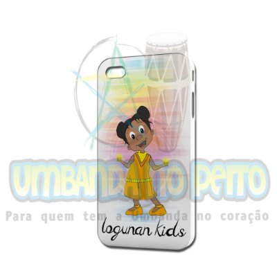 Case Branca Logunan Kids (somente iPhone 4/4S)