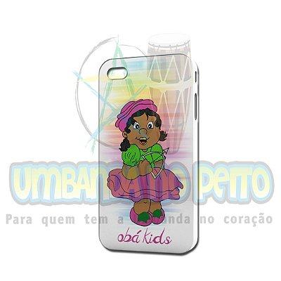 Case Branca Obá Kids (somente iPhone 4/4S)