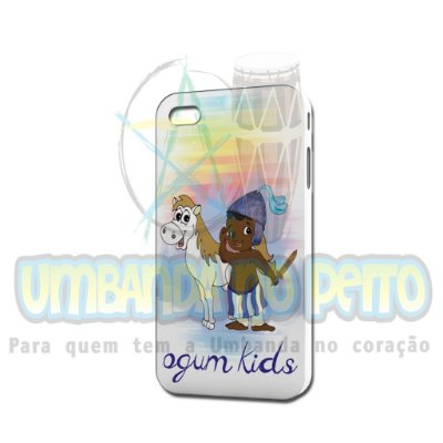 Case Branca Ogum Kids (somente iPhone 4/4S)