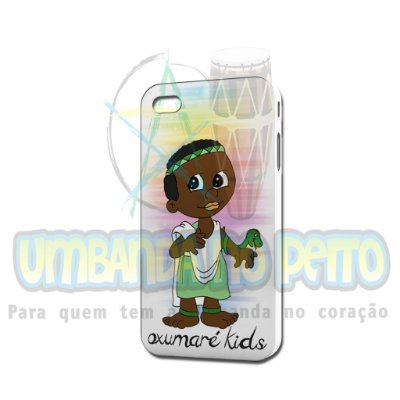 Case Branca Oxumaré Kids (somente iPhone 4/4S)