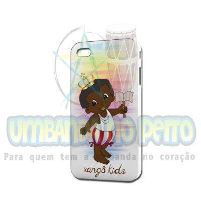Case Branca Xangô Kids (somente iPhone 4/4S)