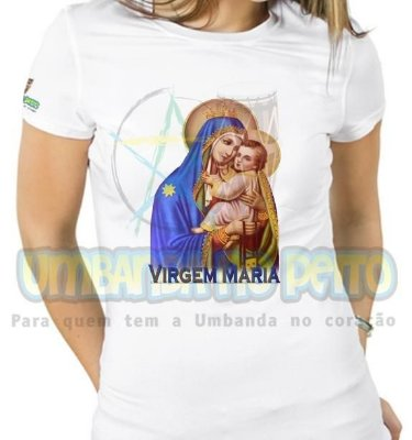 Baby Look Virgem Maria II