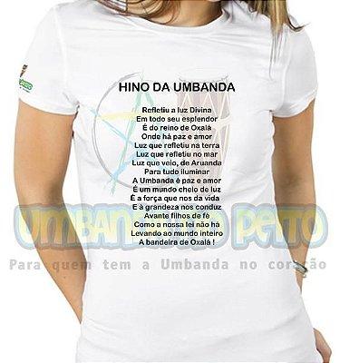Baby Look Hino da Umbanda