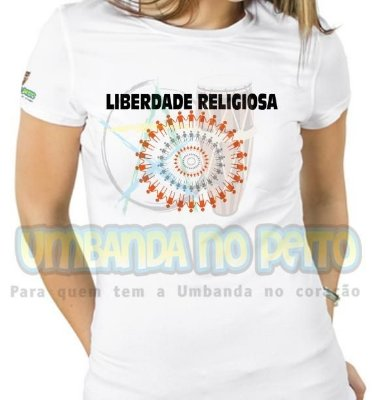 Baby Look Liberdade Religiosa