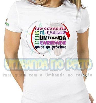 Baby Look Valores da Umbanda