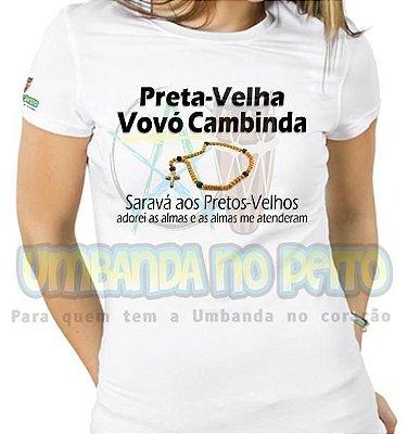Baby Look Vovó Cambinda