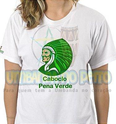 Camiseta Caboclo Pena Verde