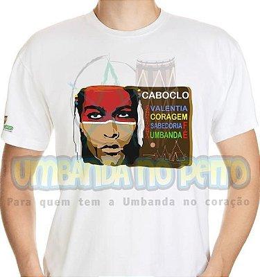 Camiseta Força de Caboclo