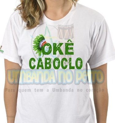 Camiseta Caboclo Cocar