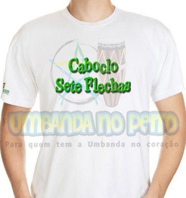 Camiseta Caboclo Sete Flechas