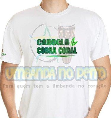 Camiseta Caboclo Cobra Coral II