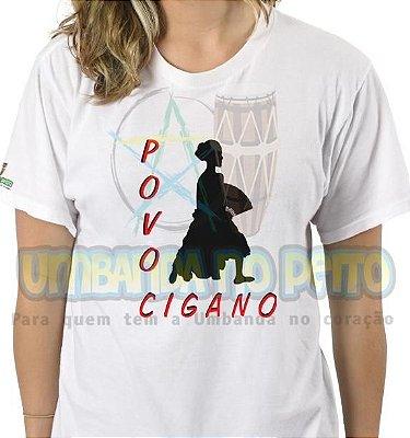 Camiseta Salve o Povo Cigano