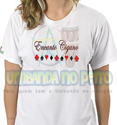 Camiseta Encanto Cigano