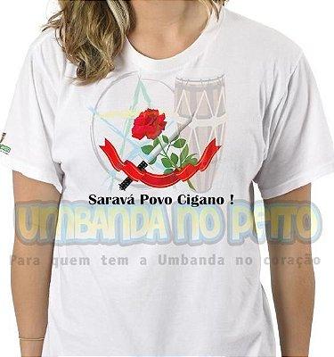Camiseta Saravá Povo Cigano